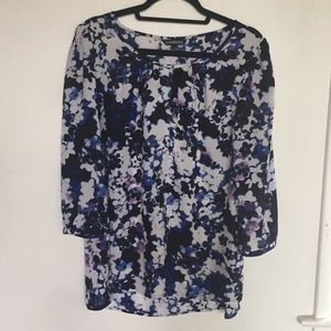 Express tunic blouse